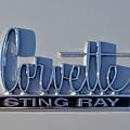 Logo Of 1966 Chevrolet Corvette Sting Ray 427 Turbo-jet by George Atsametakis