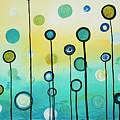 Lollipop Field By Madart by Megan Duncanson