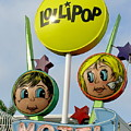 Lollipop Motel - North Wildwood New Jersey by Anna Maria Virzi