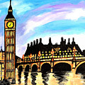 London After Eight by Art by Danielle