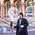 London Bubbles 4 by Alex Art and Photo