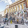 London Bubbles B by Alex Art and Photo