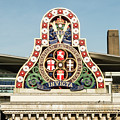 London Chatham And Dover Railway Crest With Invicta Motto Blackfriars Railway Station by Jacek Wojnarowski