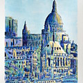 London City St Paul's Cathedral by Gracio Freitas