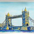 London City Tower Bridge by Gracio Freitas