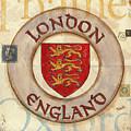London Coat Of Arms by Debbie DeWitt