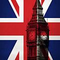 London England Big Ben by Edward Fielding