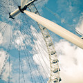 London Eye Ferris Wheel by Andy Smy