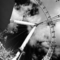 London Ferris Wheel Bw by Agusti Pardo Rossello