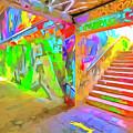 London Graffiti Pop Art by David Pyatt