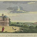 London Magazine, London South East View Of Gloucester Lodge In Windsor Great Park Published Aug 1780 by Artistic Rifki