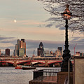 London Skyline From The South Bank by Jasna Buncic