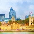 London Skyline Impression by Lutz Baar