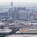 London Skyline by Sharon Popek