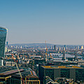 London Skyline by Stewart Marsden