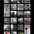 London Squares by Mark Rogan