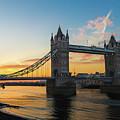 London Sunrise by Robert Stasio