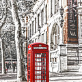London Telephone B by Alex Art and Photo