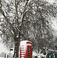London Telephone Box by Karyn Schafer Campbell