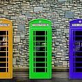 London Telephone Boxes by Mark Rogan