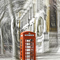 London Telephone C by Alex Art and Photo