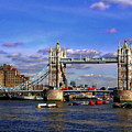 London Tower Bridge by Anthony Dezenzio