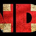 London Vintage British Flag Tee by Edward Fielding