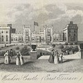 London Windsor Castle East Terrace, The Queen's Private Apartments by Artistic Rifki