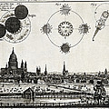 London With Eclipse Diagram, 1748 by Wellcome Images