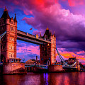 London's Tower Bridge by Pixabay