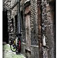 Lone Bike In France by Joan  Minchak