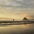Sunset At Haystack Rock by Paul Quinn