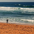 Lone Surfer by Anthony Croke