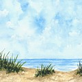 Lonely Beach by Michael Vigliotti