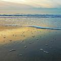 Lonely Beach by Nannie Van der Wal