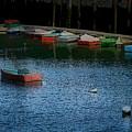 Lonely Boat by Nancie DeMellia