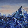 Lonely Mountain Cliff by M B