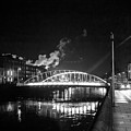 Lonely Night Bw by Alex Art and Photo
