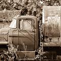 Lonely Truck by Willard Sharp