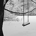 Lonely Winter Swing Ipswich Ma by Toby McGuire