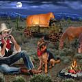 Lonesome Cowboy by Glenn Holbrook