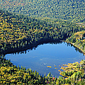 Lonesome Lake - White Mountains New Hampshire Usa by Erin Paul Donovan