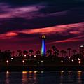 Long Beach Lighthouse II by John R Williams