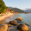 Long Chairs On A Beach In Pulau Tioman, Malaysia by Didier Marti