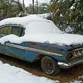 Long Cool Blue Impala by Deborah Montana