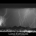 Long Exposure - Bw Poster by James BO  Insogna
