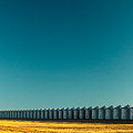 Long Line Of Bins by Todd Klassy