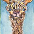 Long Neck Alpaca by Michelle Spiziri