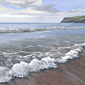 Long Waves At Trebarwith by Lawrence Dyer
