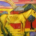 Long Yellow Horse 1913 by Marc Franz